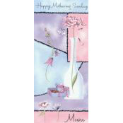 Mother's Day Card - Happy Mothering Sunday (Flower) - 32130