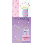 Mother's Day Card - Happy Mother's Day (Vase) - 32140