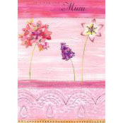 Mother's Day Card - Just For You Mum (Flowers) - 32170