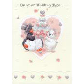 Wedding Card - On Your Wedding Day (Wedding Cake 1) - 37020