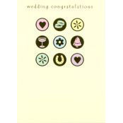 Wedding Card - Wedding Congratulations - 37030