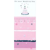 Wedding Card - On Your Wedding Day (Wedding Cake 2) - 37040