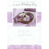 Wedding Card - For the Bride and Groom - 37090