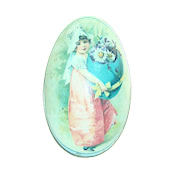 Easter Gift Tin - Victorian Girl - 42020