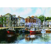 Gibsons 1000 piece Jigsaw Puzzle - G476 Padstow Harbour - 51030
