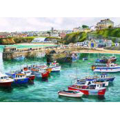 Gibsons 1000 piece Jigsaw Puzzle - G487 Newquay - 51051