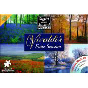 Sight and Sound Puzzle - Vivaldi's Four Seasons and CD - 60000