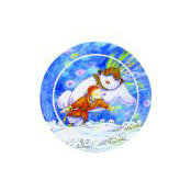 The Snowman Small Melamine Plate - 80190
