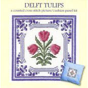 Textile Heritage Kit - Delft Tulips - 90030