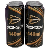 Strongbow Original Cider 440 ml can - FBC10424
