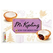 Mr. Kipling Iced Top Mince Pies - FCH70259