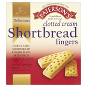 Paterson's Clotted Cream Shortbread Fingers - FCO70216