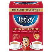 Tetley Extra Strong Engelse Thee - 75 Theezakjes - FTE10139