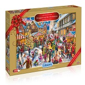 Gibsons 1000 piece Jigsaw Puzzle - G2017 Wrapped up for Christmas - GIB-G2017