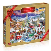 Gibsons 1000 piece Jigsaw Puzzle - G2018 Driving home for Christmas - GIB-G2018