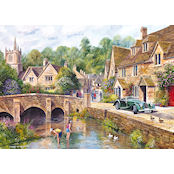 Gibsons 1000 piece Jigsaw Puzzle - G6070 Castle Combe - GIB-G6070