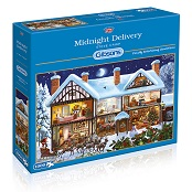 Gibsons 1000 piece Jigsaw Puzzle - G6155 Midnight Delivery - GIB-G6155