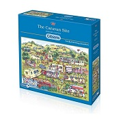 Gibsons 1000 piece Jigsaw Puzzle - G6169 The Caravan Site - GIB-G6169