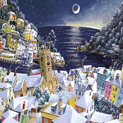 Gibsons 1000 piece Jigsaw Puzzle - G6198 Christmas Moon - GIB-G6198