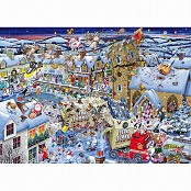 Gibsons 1000 piece Jigsaw Puzzle - G7013 I Love Christmas - 51209