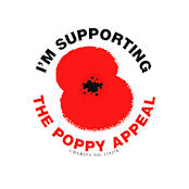 Poppy Window Sticker